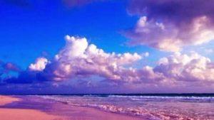 Пясък с розов цвят