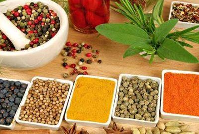 Аюрведа меню от зърнени и зеленчукови храни и подправки