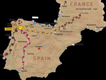 Ел Камино, Английският път