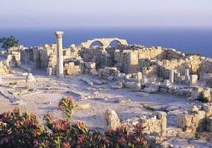 Кипър, Ларнака, руини