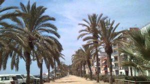 Калея Испания крайбрежна улица