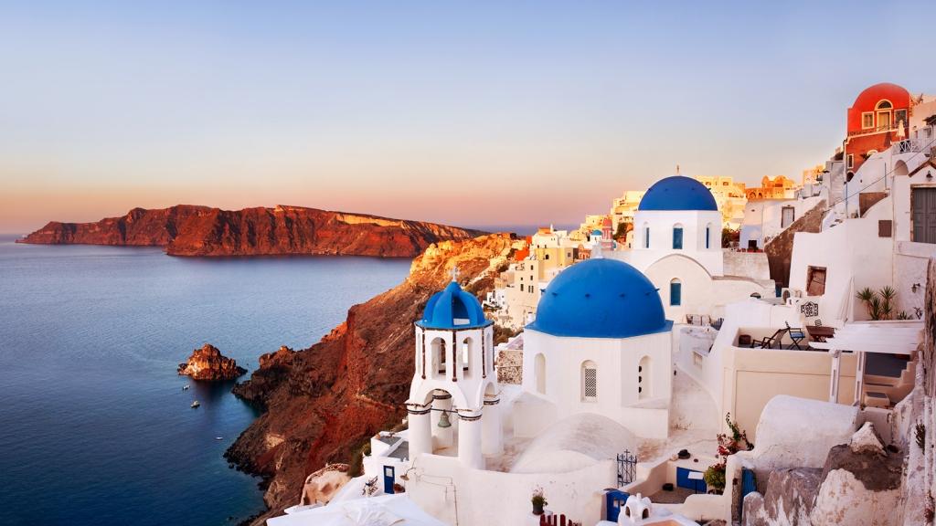 Екскурзия до остров Санторини Гърция
