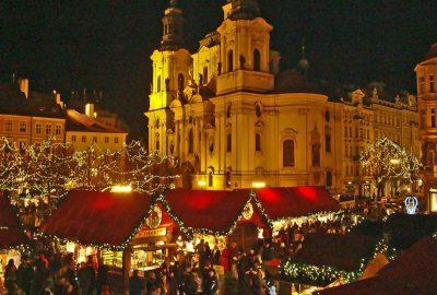 Коледа Прага